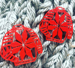 Load image into Gallery viewer, Ugly Sweater 3D Printed Earrings