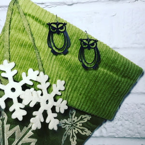 Whooo's the Best? 3D Printed Earrings