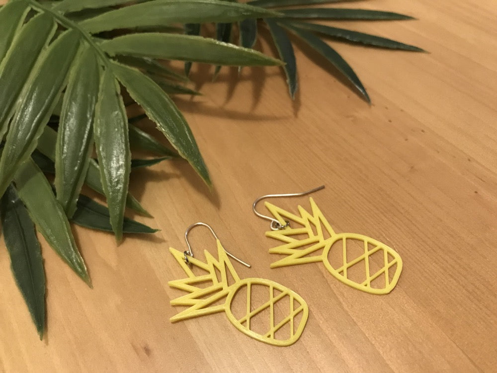 Sweet on the Inside 3D Printed Earrings