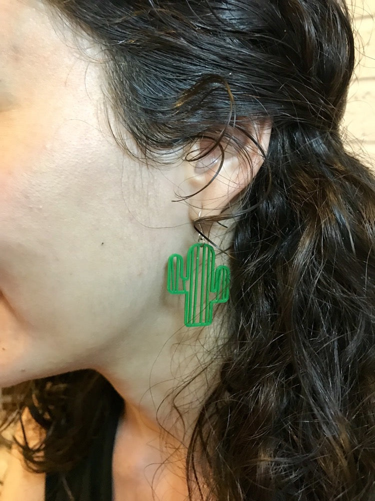 Don't Be A Prick 3D Printed Earrings