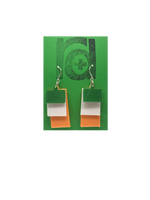 Load image into Gallery viewer, Irish You a Happy St. Paddy's Day 3D Printed Earrings