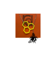 Let It Bee 3D Printed Necklace