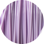 Load image into Gallery viewer, This is a close up of the spool of the eco friendly 3D printer filament that we use to create our items. This is our light purple spool. It is the color of amethyst, lilacs, and pastel purple roses.