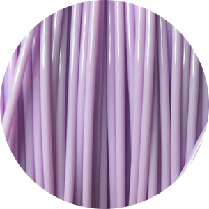 This is a close up of the spool of the eco friendly 3D printer filament that we use to create our items. This is our light purple spool. It is the color of amethyst, lilacs, and pastel purple roses.