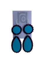 Load image into Gallery viewer, Live, Love, Lace 3D Printed Earrings