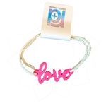 Load image into Gallery viewer, Love 3D Printed Bracelet