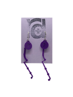 Load image into Gallery viewer, Love Hate Relationship 3D Printed Earrings