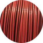 Load image into Gallery viewer, This is a close up of the spool of the eco friendly 3D printer filament that we use to create our items. Pictured here is the merlot spool. It is a deep red like the color of a freshly poured glass of wine or changing leaves.