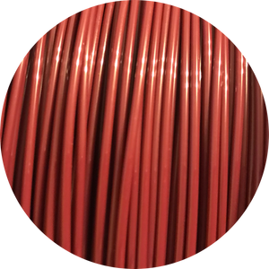 This is a close up of the spool of the eco friendly 3D printer filament that we use to create our items. Pictured here is the merlot spool. It is a deep red like the color of a freshly poured glass of wine or changing leaves.
