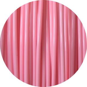 This is a close up of the spool of the eco friendly 3D printer filament that we use to create our items. This is our light pink spool. The color is soft and sweet like blush cheeks, English roses, and sunsets.