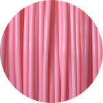 Load image into Gallery viewer, This is a close up of the spool of the eco friendly 3D printer filament that we use to create our items. This is our light pink spool. The color is soft and sweet like blush cheeks, English roses, and sunsets.