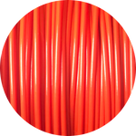 Load image into Gallery viewer, This is a close up of the spool of the eco friendly 3D printer filament that we use to create our items. Shown here in red, it is bright and bold like a fire engine, a perfectly ripe apple, or a sports car.