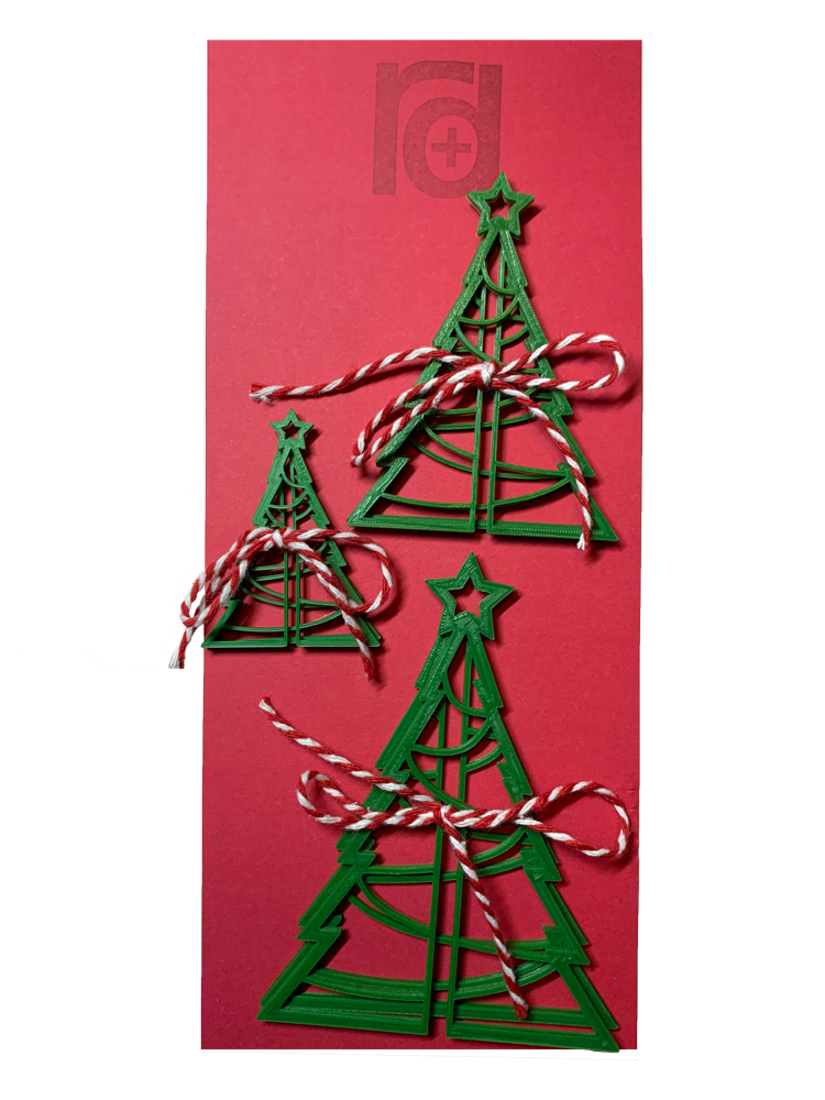 Tree-Mendous 3D Printed Christmas Trees