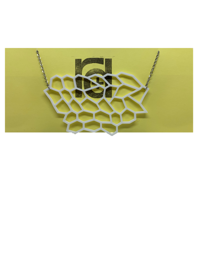Water Runs Dry 3D Printed Necklace