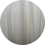 Load image into Gallery viewer, This is a close up of the spool of the eco friendly 3D printer filament that we use to create our items. This is our white spool. It is bright and clean white like snow, fluffy clouds, or crisp cotton.