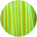 Load image into Gallery viewer, This is a close up of the spool of the eco friendly 3D printer filament that we use to create our items. Our yellow spool is shown here, it is the color of fresh lemons, juicy pineapples, and perfectly ripe bananas.