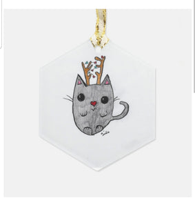 Reinkitty ornament