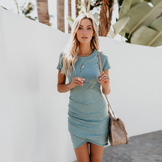 Comfy Day T-Shirt Dress