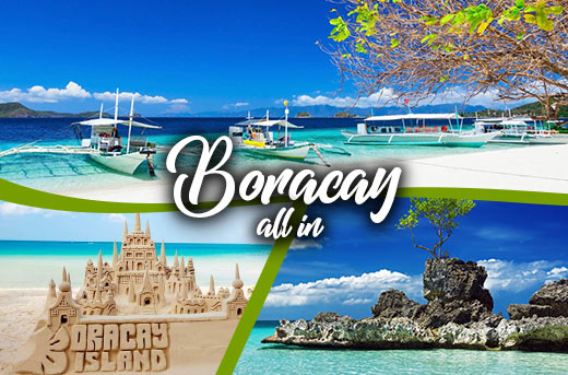 BORACAY ESCAPADE WITH AIRFARE and HOTEL