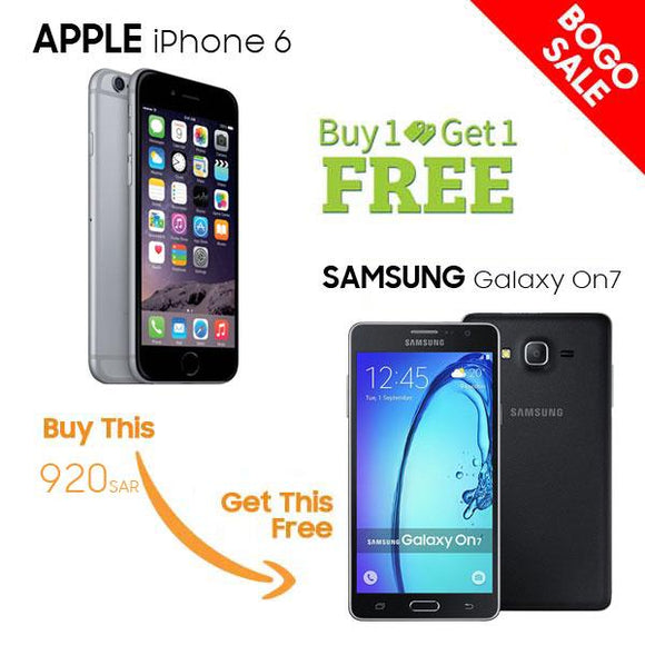 Buy Apple iPhone 6 Get Free Samsung Galaxy On7