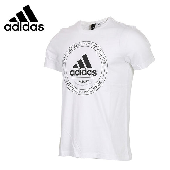 SAULA01419 Original New Arrival 2018 Adidas EMBLEM Men's T-shirts short sleeve Sportswear