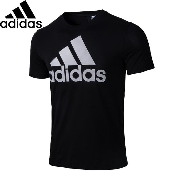 ADIDAS Original New Arrival Mens Running T-shirt Flexible Quick Dry Cotton Support Sports T-shirt