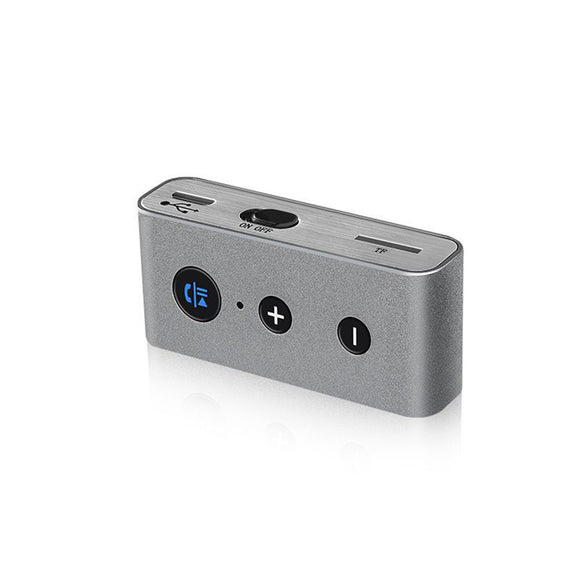 Portable Bluetooth Receiver Bluetooth Car Aux Adapter Wireless Music Audio A2DP Stereo Wireless Sound System Hands-Free Calling Support TF Card