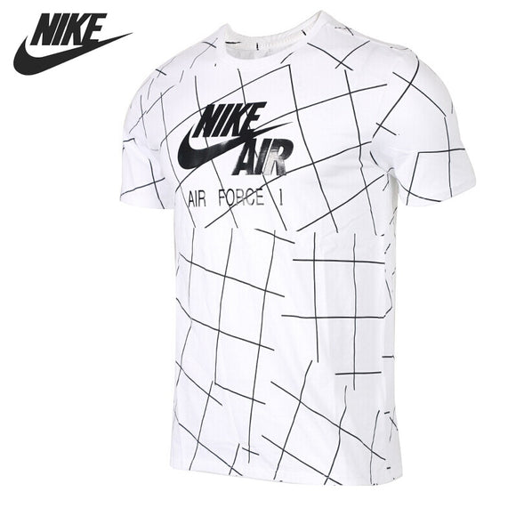 Sports Flagship Store (AliExpress) Original New Arrival 2018 NIKE AS M NSW TEE AF1 Men's T-shirts short sleeve Sportswear