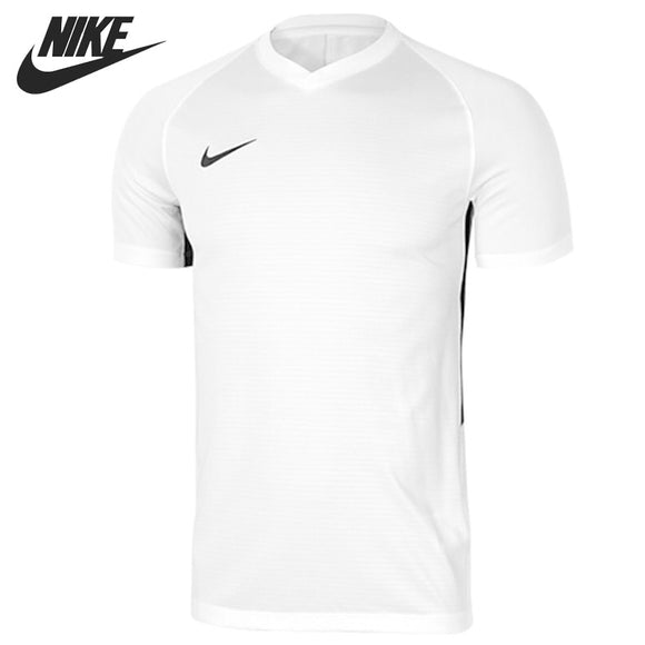Top Sports Flagship Store (AliExpress) Original New Arrival 2018 NIKE DRY TIEMPO PREM JSY Men's T-shirts short sleeve Sportswear