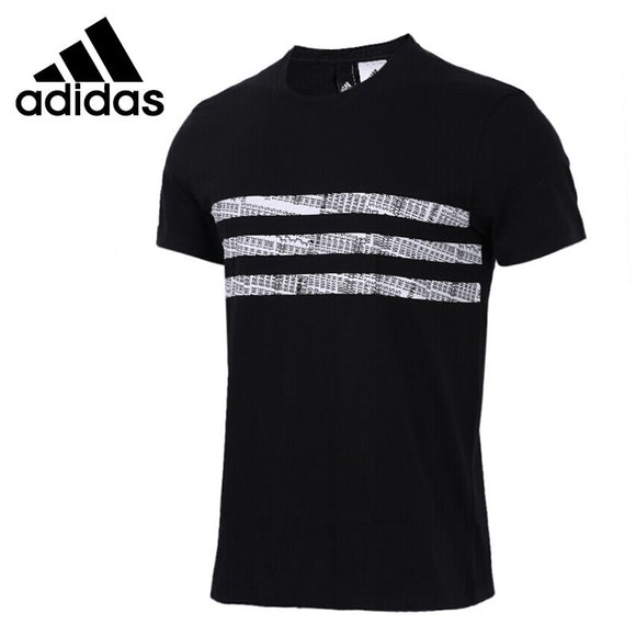 SAULA01419 Original New Arrival 2018 Adidas THREE STRIPES Men's T-shirts short sleeve Sportswear