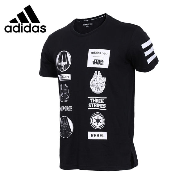 SAULA01419 Original New Arrival 2018 Adidas NEO Label SW TEE 4 Men's T-shirts short sleeve Sportswear