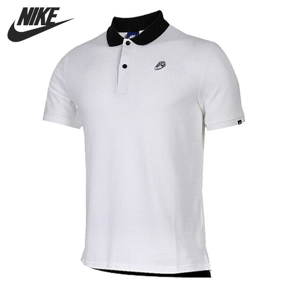 SAUJO01419 Original New Arrival 2018 NIKE  POLO PQ SNKR SNL Men's Exercise POLO-shirts short sleeve Sportswear