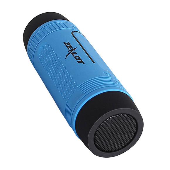 Portable Multifuctional Outdoor Bluetooth Wireless Speaker Sport Shockproof Dustproof Bluetooth Speakers Deep Bass Subwoofer Sound 4000mAh Battery TF Card Slot with Microphone