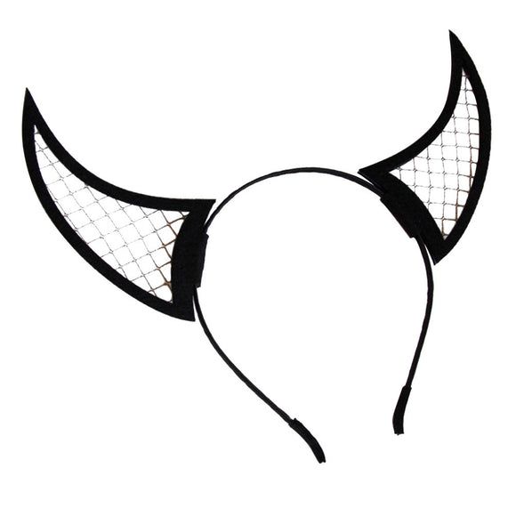 Halloween Headband Devil Horn Head Piece Hair Band Accessory Party Costume Favors Supplies