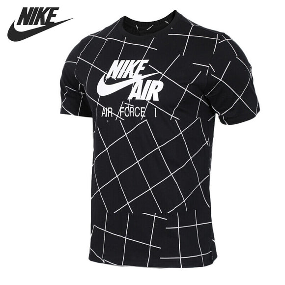 SAUJO01419 Original New Arrival 2018 NIKE AS M NSW TEE AF1 Men's T-shirts short sleeve Sportswear