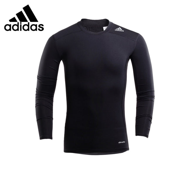 Original New Arrival  Adidas TF BASE LS Men's  T-shirts  shirt Long sleeve Sportswear