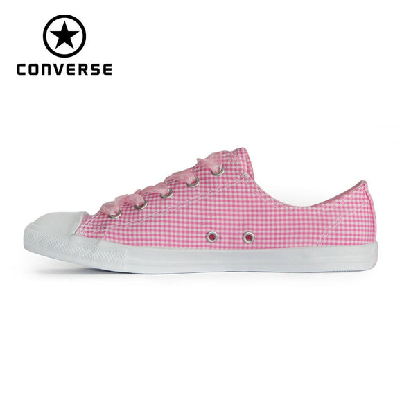 419SAUPHIGE01 NEW CONVERSE All Star shoes women CONVERSE Pink Ribbon lightweight low sneakers Skateboarding Shoes 560832C
