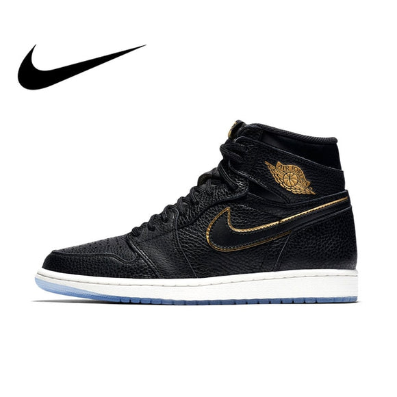 Original Official Authentic NIKE AIR JORDAN 1 RETRO HIGH OG Men Basketball Shoes Sneakers Sport Outdoor Comfortable Breathable