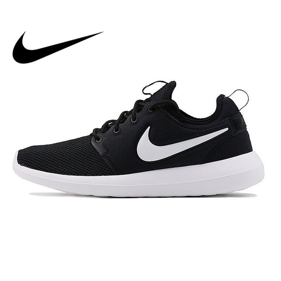 SAUJO01419 Original  Authentic NIKE ROSHE TWO Men's Running Shoes Sneakers Breathable Nike Shoes Men Comfortable Durable  Leisure 844656