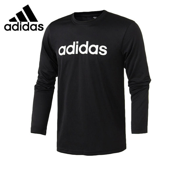 Original New Arrival 2018 Adidas M LOGO LS T Men's T-shirts Long sleeve Sportswear