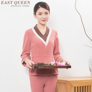 SAUDO01419 Medical scrubs spa uniform beauty salon beautician massage uniform nurse clinical uniforms woman medical clothing DD1330