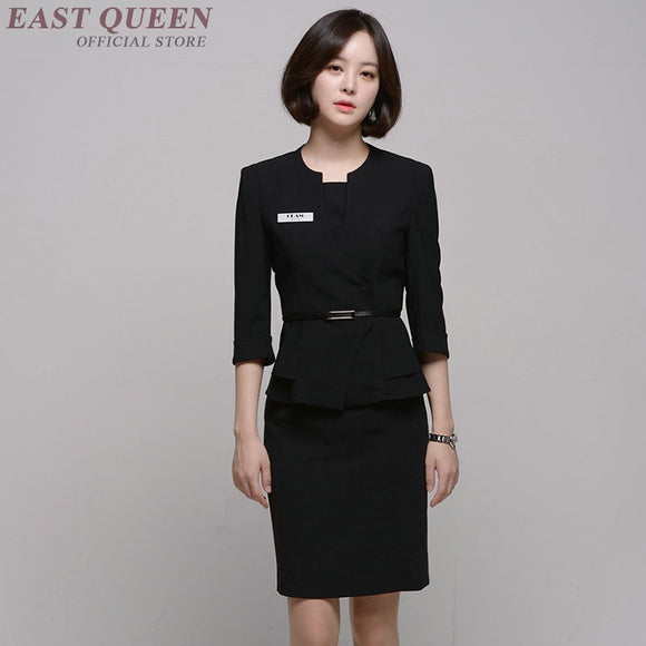 SAUDO01419 Beauty salon massage uniform clinical beautician uniforms woman female clothing DD1378