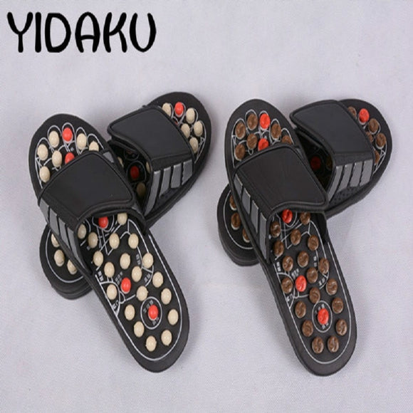 SAUDO01419 Massage Slipper Shoes Men Summer Slipper acupoint Healthcare Slipper Health Rotating Accupressure Foot Slippers for Men Women