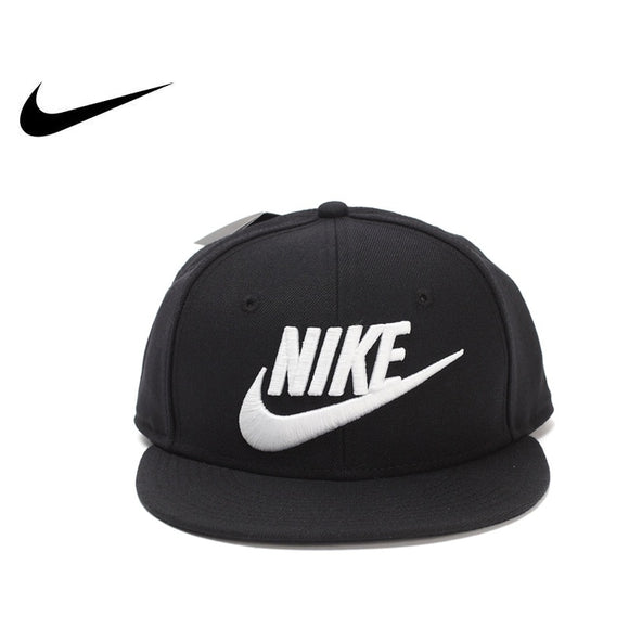 SAUJO01419 Original Authentic 2017 Summer Sunshade NIKE TRUE-SNAPBACK Unisex Golf Sport Caps Solid Sportswear Cotton 584169-010