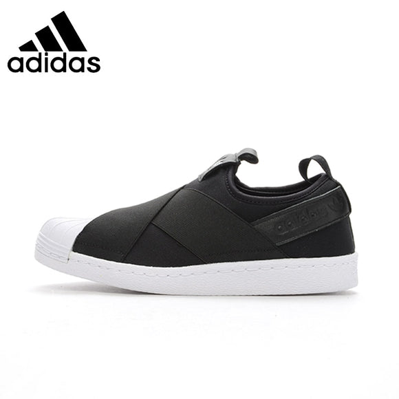 SAUJO01419 ADIDAS  Superstar SlipOn Original Mens & Womens Skateboarding Shoes Breathable Comfortable Sneakers For Mens And Womens Shoes