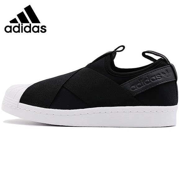 SAUJO01419 Original Adidas SUPERSTAR SlipOn Unisex Skateboarding Shoes Sneakers Outdoor Sports Athletic New Arrival 2019