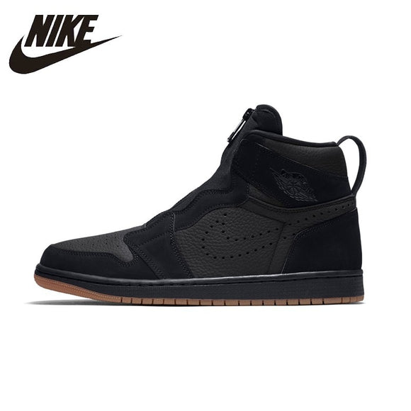 NIKE AIR JORDAN 1 Original Mens Basketball Shoes Breathable Stability Support Sports Sneakers For Men Shoes