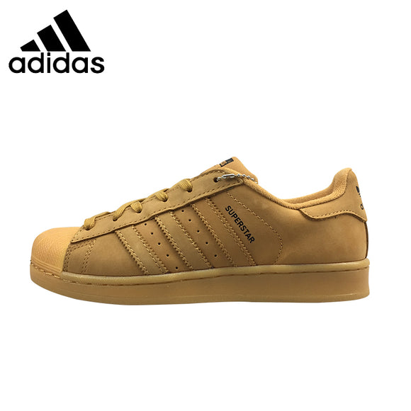 SAUJO01419 ADIDAS Superstar Original  Mens & Womens Skateboarding Shoes Unisex Breathable Leisure Footwear Super Light Sneakers