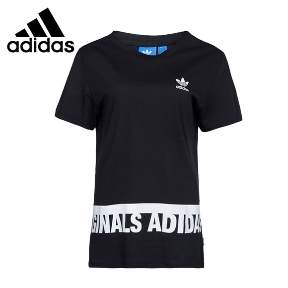 Original New Arrival  Adidas Originals GRAPHIC TEE Women's T-shirts short sleeve Sportswear
