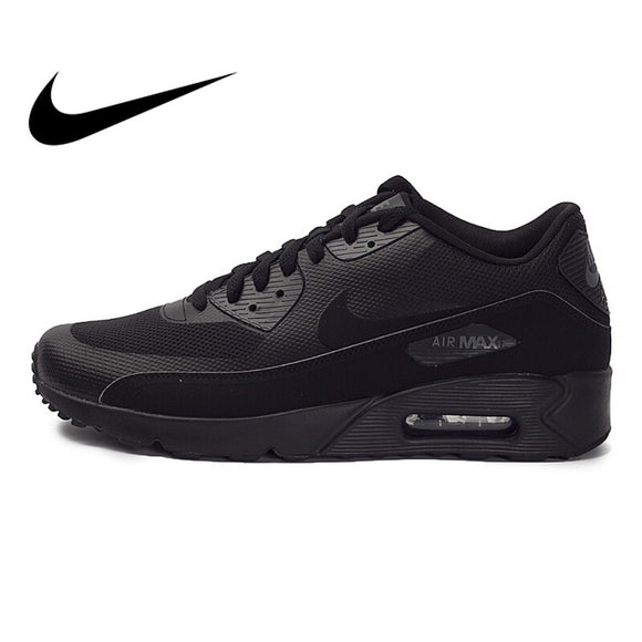 419SAUPHIGE01 Original Authentic NIKE AIR MAX 90 Men's Running Shoes Sneakers Rubber Breathable Lace-Up Nike Shoes Men Comfortable 875695